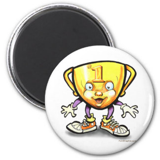 Trophy 2 Inch Round Magnet