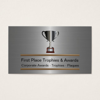 Trophy And Awards Business Cards