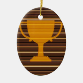 Trophy Award Cup Winner Success NVN278 Sports GIFT Christmas Tree Ornaments