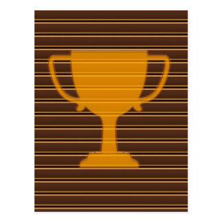 Trophy Award Cup Winner Success NVN278 Sports GIFT Postcards