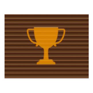 Trophy Award Cup Winner Success NVN278 Sports GIFT Postcard