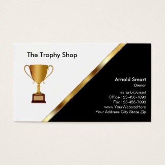 Trophy Awards Business Cards