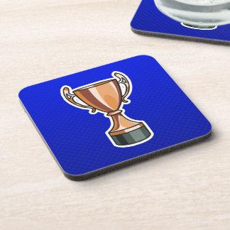 Trophy; Blue Coaster
