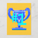 Trophy Blue Cup The MUSEUM Zazzle Gifts