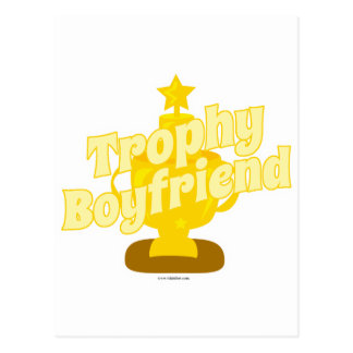 Trophy Boyfriend Postcard