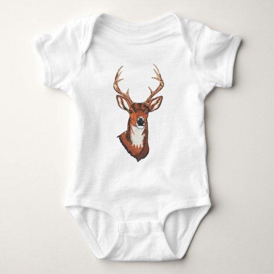 Trophy Buck Rack Mount Baby Bodysuit