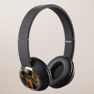 Trophy Bull Elk in Autumn Headphones