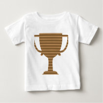 Trophy Cup Award Games Sports Competition NVN280 Baby T-Shirt