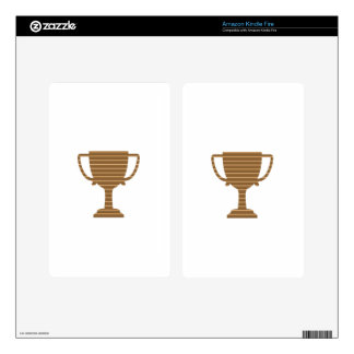 Trophy Cup Award Games Sports Competition NVN280 Decal For Kindle Fire