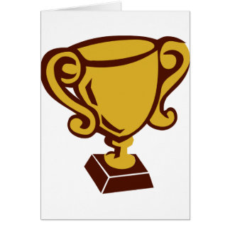 Trophy - Cup Greeting Card