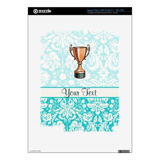 Trophy; Cute iPad 3 Decal