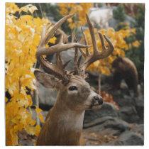 Trophy Deer Cloth Napkin