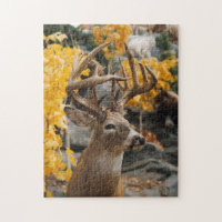 Trophy Deer Jigsaw Puzzle