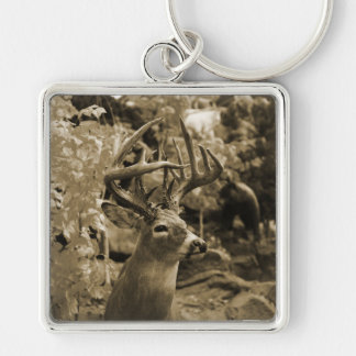 Trophy Deer Keychain