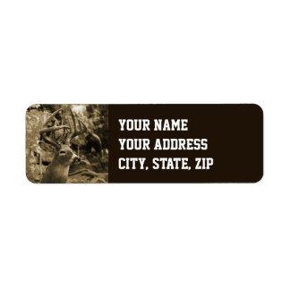 Trophy Deer Label