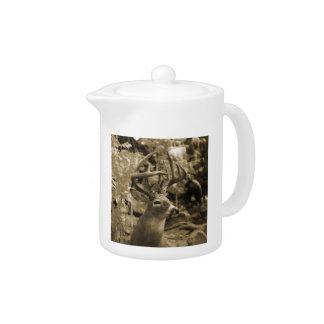 Trophy Deer Teapot