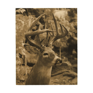 Trophy Deer Wood Wall Art