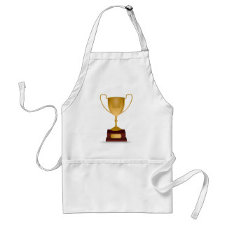 Trophy Drawing Adult Apron