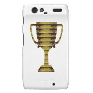 TROPHY GOLD Business Success Competition Sports Droid RAZR Cases