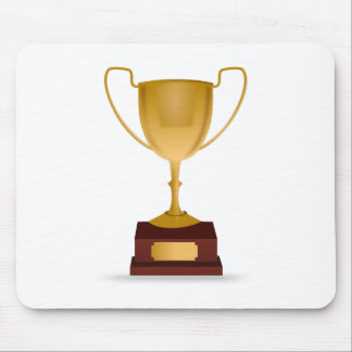 Trophy - Gold Cup Award - Winner, Best, No.1 Mouse Pad