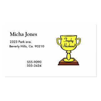 Trophy Husband Business Card