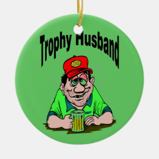 Trophy Husband Christmas Tree Ornament
