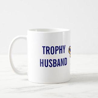 Trophy Husband Classic White Coffee Mug