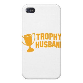 trophy husband iPhone 4 case