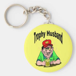 Trophy Husband Key Chain
