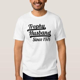 Trophy Husband Since 1976 Shirt