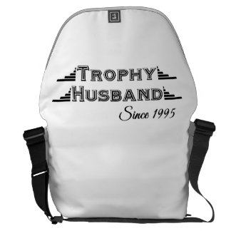 Trophy Husband Since 1995 Messenger Bag
