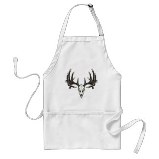 Trophy Whitetail buck Adult Apron