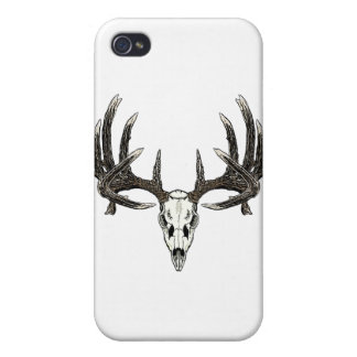 Trophy Whitetail buck Case For iPhone 4