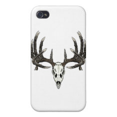 Trophy Whitetail buck iPhone 4/4S Cover at Zazzle
