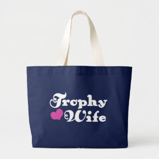Trophy Wife Canvas Bags
