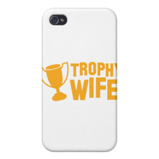 TROPHY wife iPhone 4/4S Cover