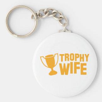 TROPHY wife Keychain
