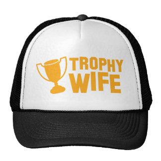 TROPHY wife Trucker Hat