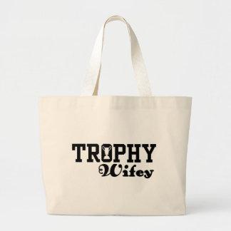 Trophy Wifey Canvas Bag