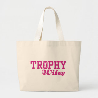 Trophy Wifey Canvas Bags