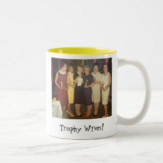 Trophy Wives! Two-Tone Coffee Mug
