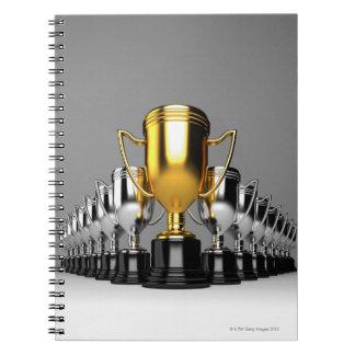 Trophys de plata 3 libro de apuntes