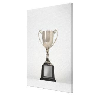 Trophys de plata 3 lona envuelta para galerias