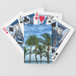 Tropial Afternoon Bicycle Playing Cards