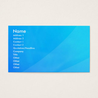 Tropic abstract, Name, Address 1, Address 2, Co... Business Card