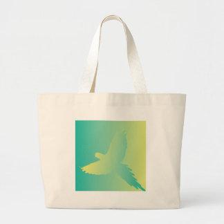 Tropic Bird Gradient Canvas Bag