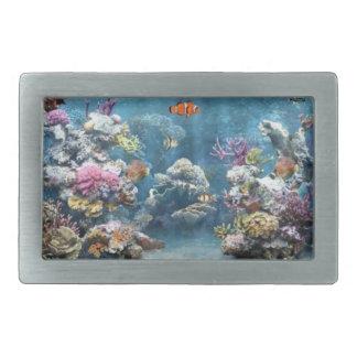 Tropic fish aquarium belt buckle