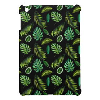Tropic Leaves Pattern Handmade Floral Tiki Case For The iPad Mini