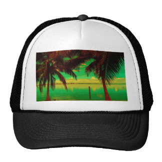 tropic nite trucker hat