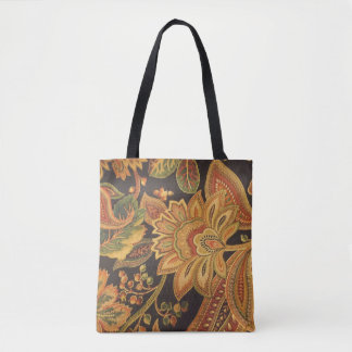 Tropical 20's tote bag